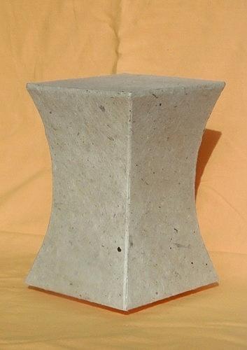 Lampe konkav Himalayapapier