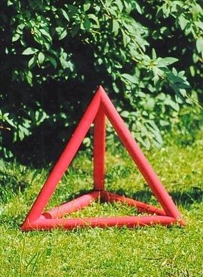 Gartenobjekt Tetrakaeder