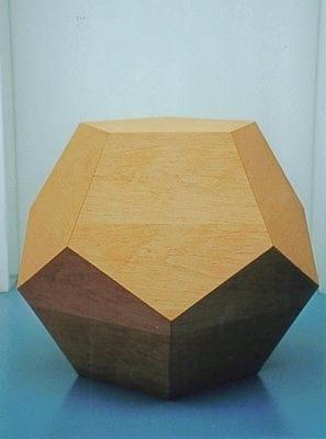 Dodekaeder Objekt groß