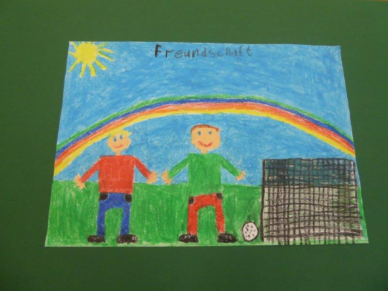Glück ist Freundschaft - Laurenz G., 3. Klasse