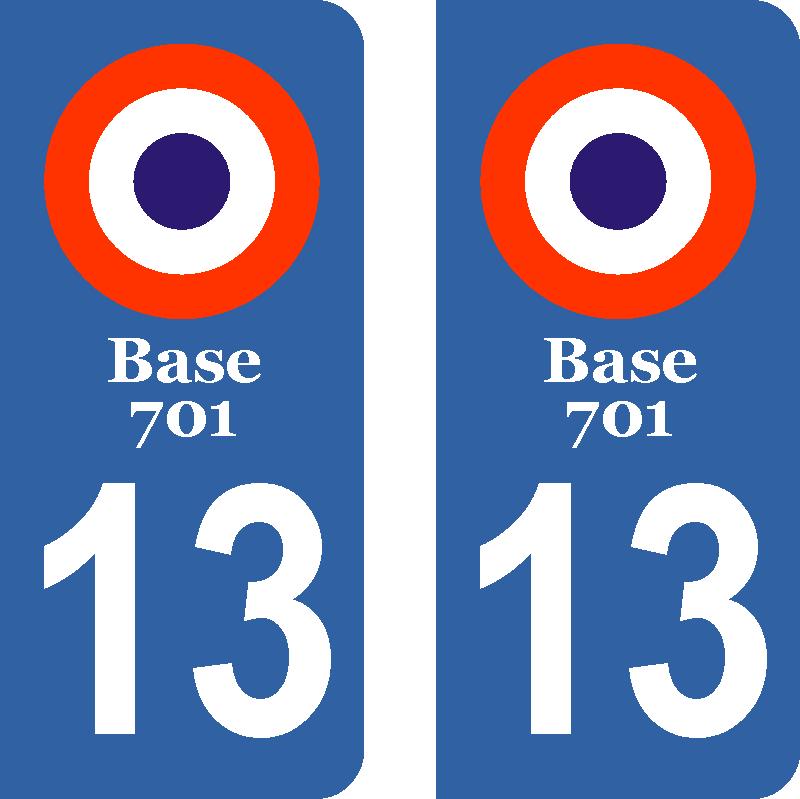 Salon de provence stickers pour plaques immatriculation for Base 701 salon de provence