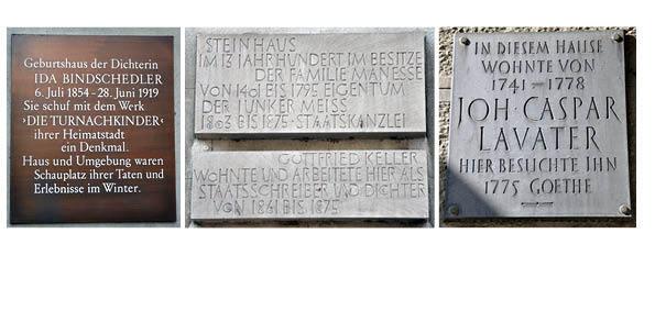 Schweizer Autoren in Zürich