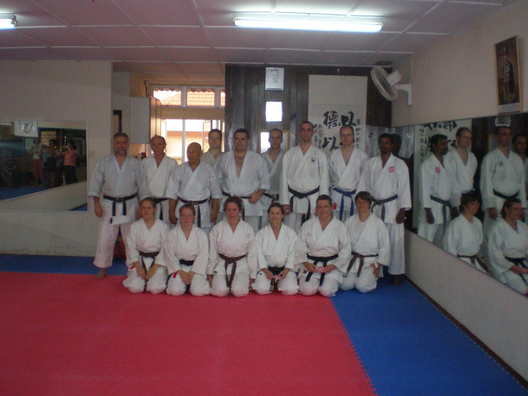 Training im Dojo Sensei Tan, Kuala Lumpur 2007