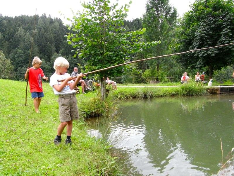Beim Fischen