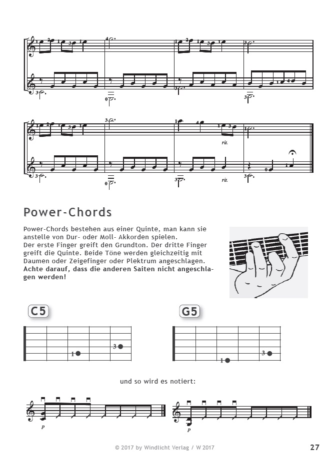 powerchords-merlins-gitarrenstunde-band-zwei