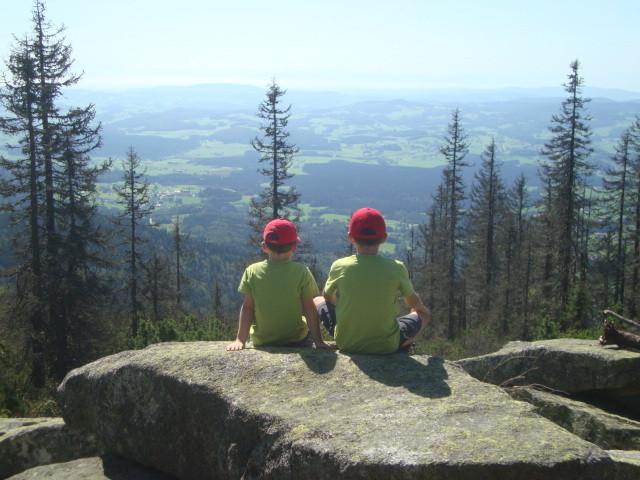 Ausblick vom Steinernen Meer (Böhmerwald) - Oberösterreich