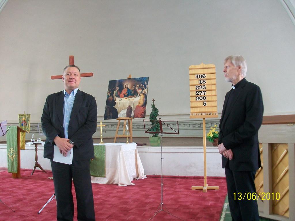 Открытие Первого международного фестиваля современной духовной музыки в Шведской церкви