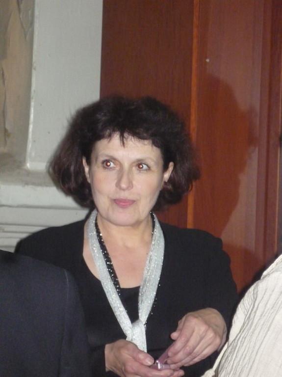 Наталия Малтизова руководитель хора из г.Форсса (Финляндия)