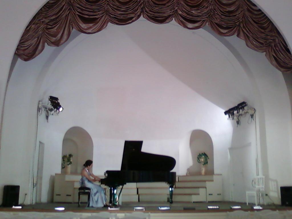 Мария Лапина (Белгород) на концерте в Концертном зале МПК№3