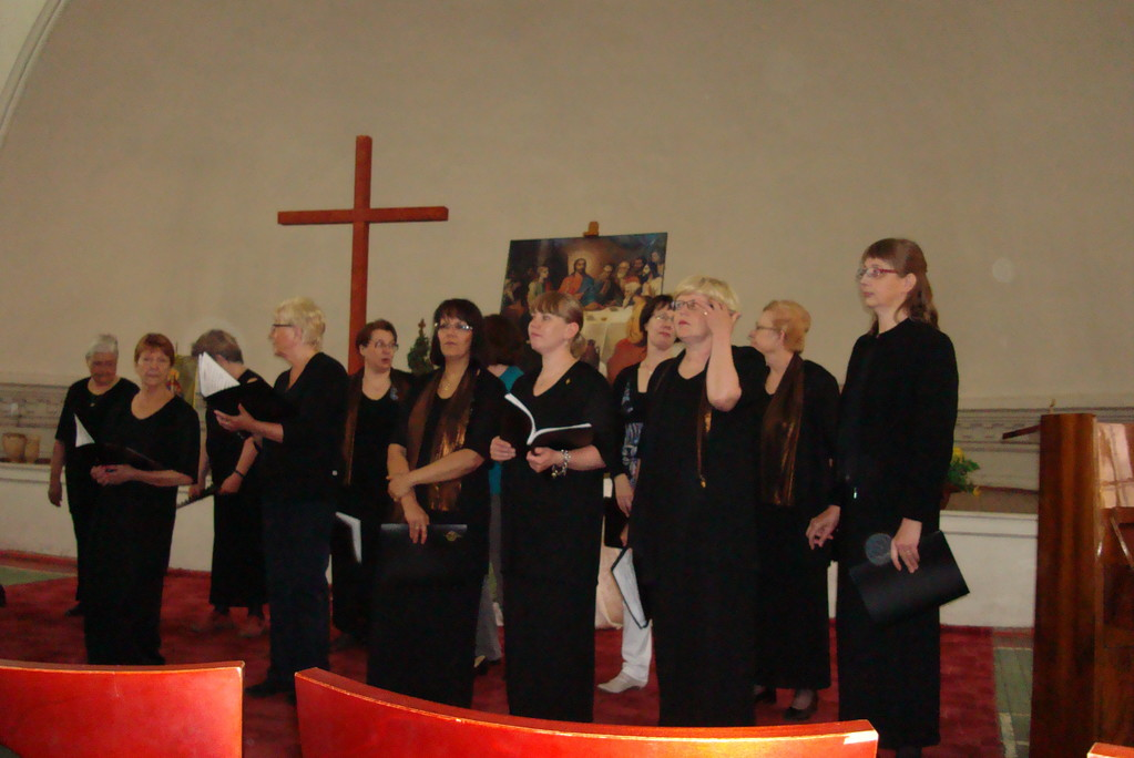 Хор из г. Форсса (Финляндия) на концерте фестиваля