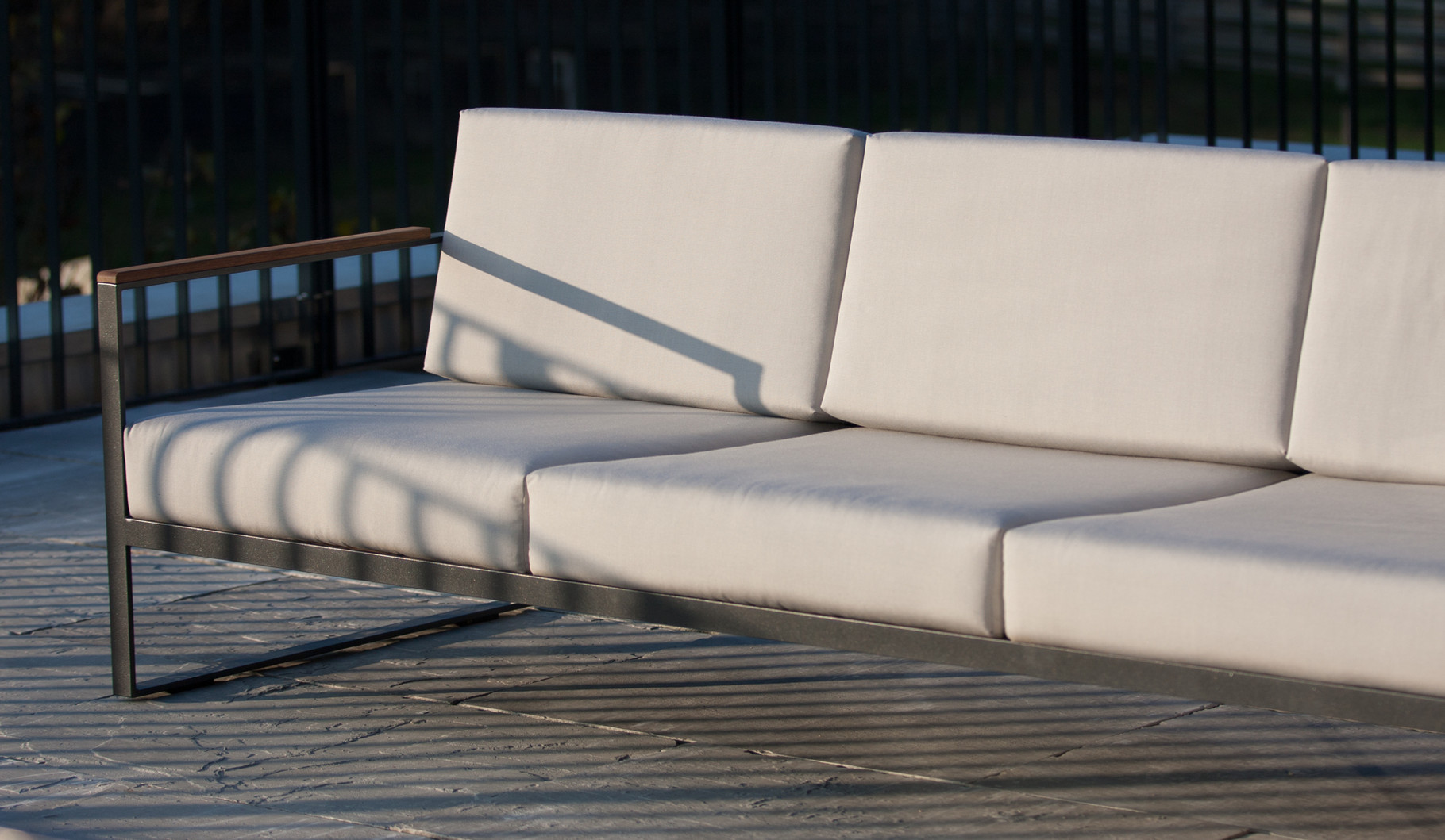 Garten Lounge Chair • Loungemöbel • Design Metall Lounge ...