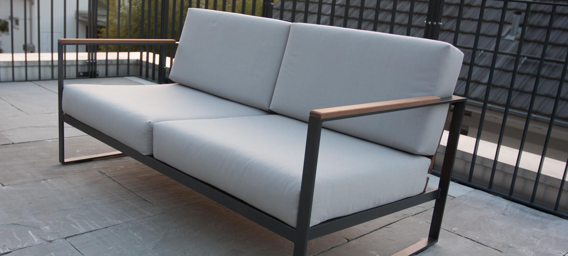 Design metall lounge gartenm bel gartenlounge schweiz for Garten lounge design