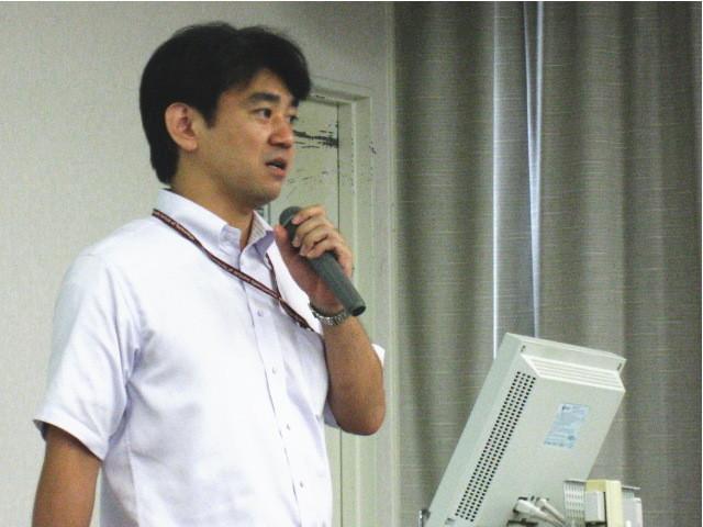 世話人のNIFS吉村さん