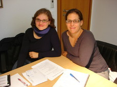 Cornelia Echle und Silvia Ferreira Kern