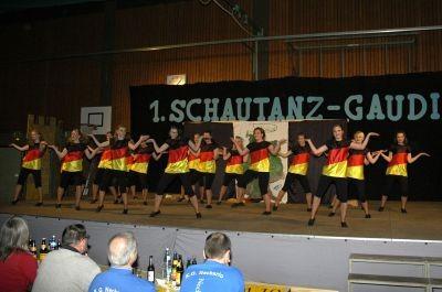3.Platz / 1 Schautanz-Gaudi