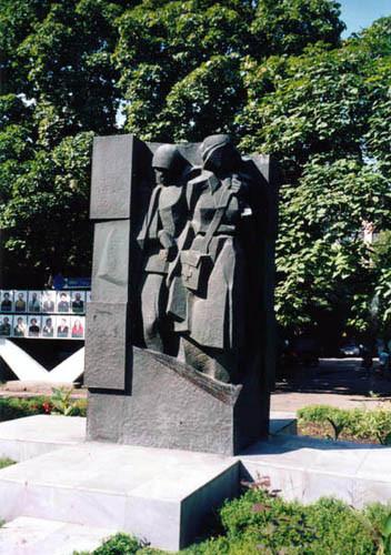 Памятное место медикам, погибшим в годы ВОВ на территории БСМП-1 (ЦГБ)