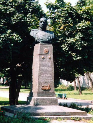 Бюст Д.Д. Лелюшенко