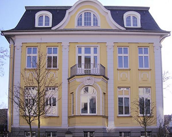 Die in den 30er Jahren »arisierte« Villa der Familie Heymann in der Rhodiusstraße.
