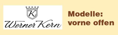 Werner Kern vorne offen