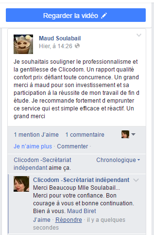 avis sur Maud Biret Clicodom