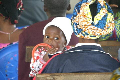 Séminaire sur la prévention du VIH: un des plus jeunes participants