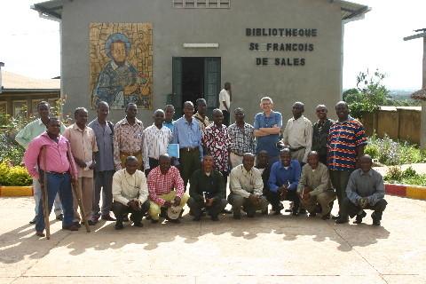 Institut Francois de Sales: devant la meilleure bibliothèque théologique de Lubumbashi