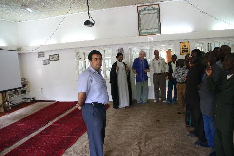 Mosquée de Lubumbashi: M. Ramji explique les traditions musulmanes