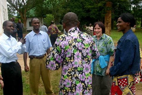Séminaire sur la prévention du VIH: discussion pendant la pause