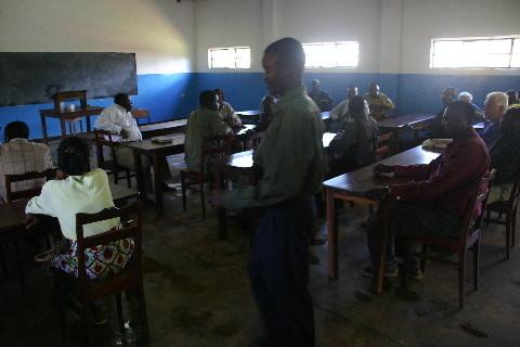 Institut Eau vive, Lubumbashi-Ruashi: la grande salle de cours