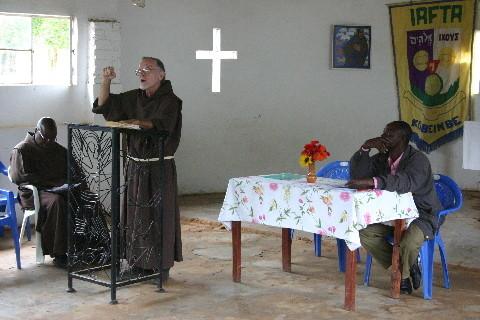 Père Damien Isabell ofm (R. D. Congo/Etats-Unis) : « Le Très Haut Humble Dieu de François d'Assise »