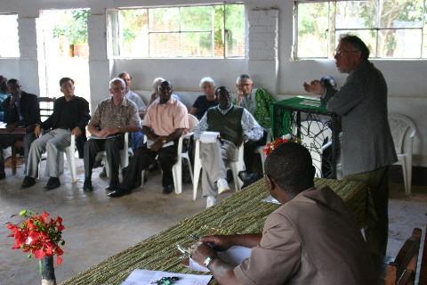 Conférence avec Prof. Heinrich Balz (Allemagne) : « Le déplacement du centre du christianisme au Sud: un défi aux églises d'Afrique »
