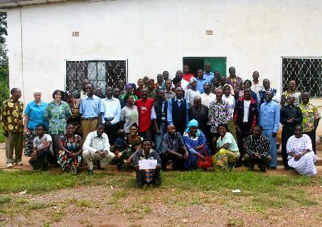Séminaire sur la prévention du VIH: Les participants 2010