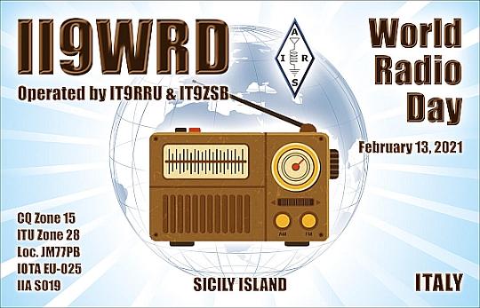 II9WRD - WORLD RADIO DAY DEL 13 FEBBRAIO 2021