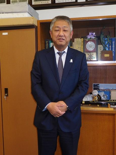 ▲和歌山県立向陽中・高等学校長   前田 成穂 氏