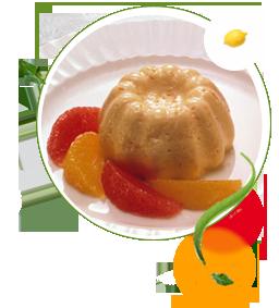 Orangenpudding zuckerfrei ohne Zucker, Rezept für Orangenpudding, zuckerfreie Rezepte für Pudding, Süßstoff, Stevia, Diabetiker, Diät