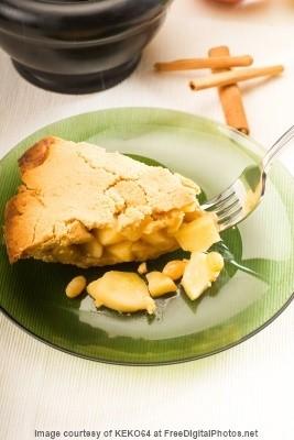 Apfelkuchen ohne Zucker, zuckerfrei backen, Rezept