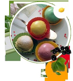 Bisuittörtchen zuckerfrei ohne Zucker, Rezept für Biscuit-törtchen