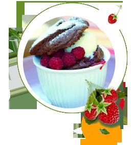 Warmer Schkoladenkuchen zuckerfrei ohne Zucker, Rezept fuer Schokoladenkuchen, zuckerfreier Schokokuchen, Diät, Süßstoff