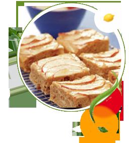 Apfelkuchen, Apfel-Schnitten zuckerfrei ohne Zucker, Rezept, Aspartam, Süßstoff