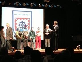 Damen 30 - Angelika Thomsen, Kerstin Harder, Anne Henatsch, Simon Patzwaldt, Gaby Rath, Beate Beyer, Sandra Rogall (v.l.)