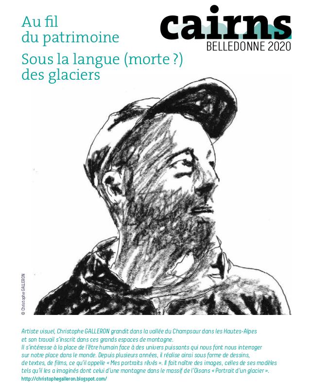 Rendez vous à la Gélinotte demain samedi à 14h, balade artistique et à 18h pour le portrait d'un Glacier avec Christophe Galleron !
