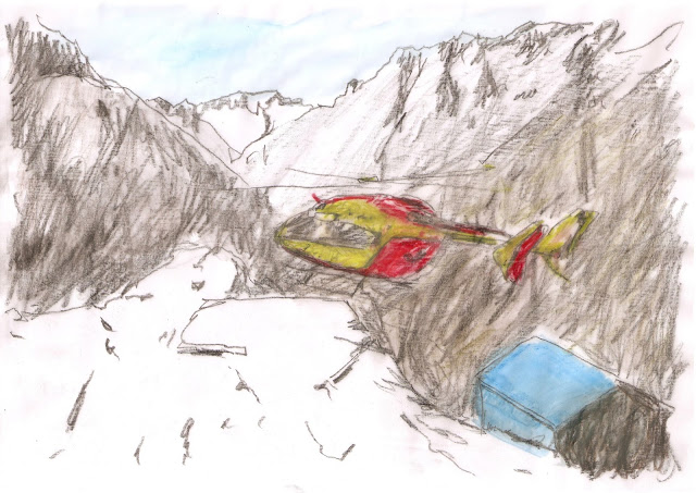 Portrait d'un Glacier, avec Christophe Galleron, samedi à 17h30 à la Gélinotte !