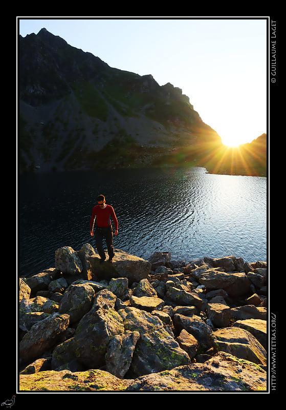 Le massif de Belledonne est parsemé d'une centaine de lacs d'altitude. De beaux moments de sérénité... Merci Guillaume Laget pour la photo.