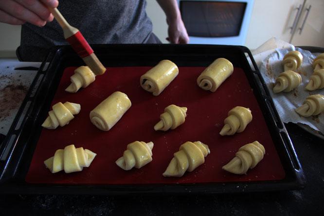 Essayez la recette de Tim le cuisinier pâtissier de la Gélinotte. Ca vous dit des minis viennoiseries maison pour le petit déj demain matin ?
