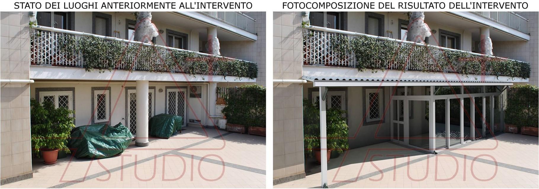 Fotoinserimento per la dimostrazione dell 39 effetto di un for Progettista del piano di casa