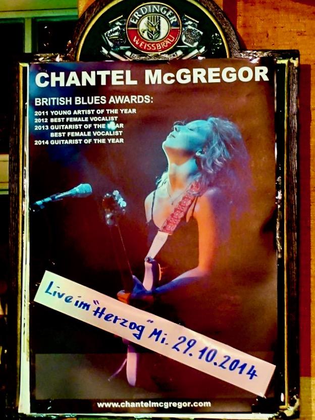 Chantel McGrogor 2014 in Celle