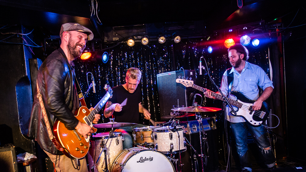 "Fine Blues Rock on their ""Old School Tour 2018"" in Berlin's Quasimodo Club"