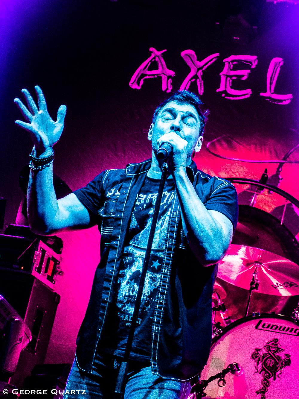 Axel Rudi Pell in Bremen at Aladin, October 2018