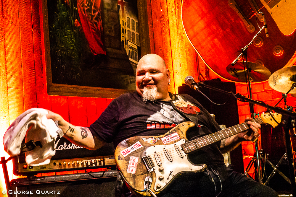 Popa Chubby at Blues Garage, Isernhagen (Hannover) October 2018