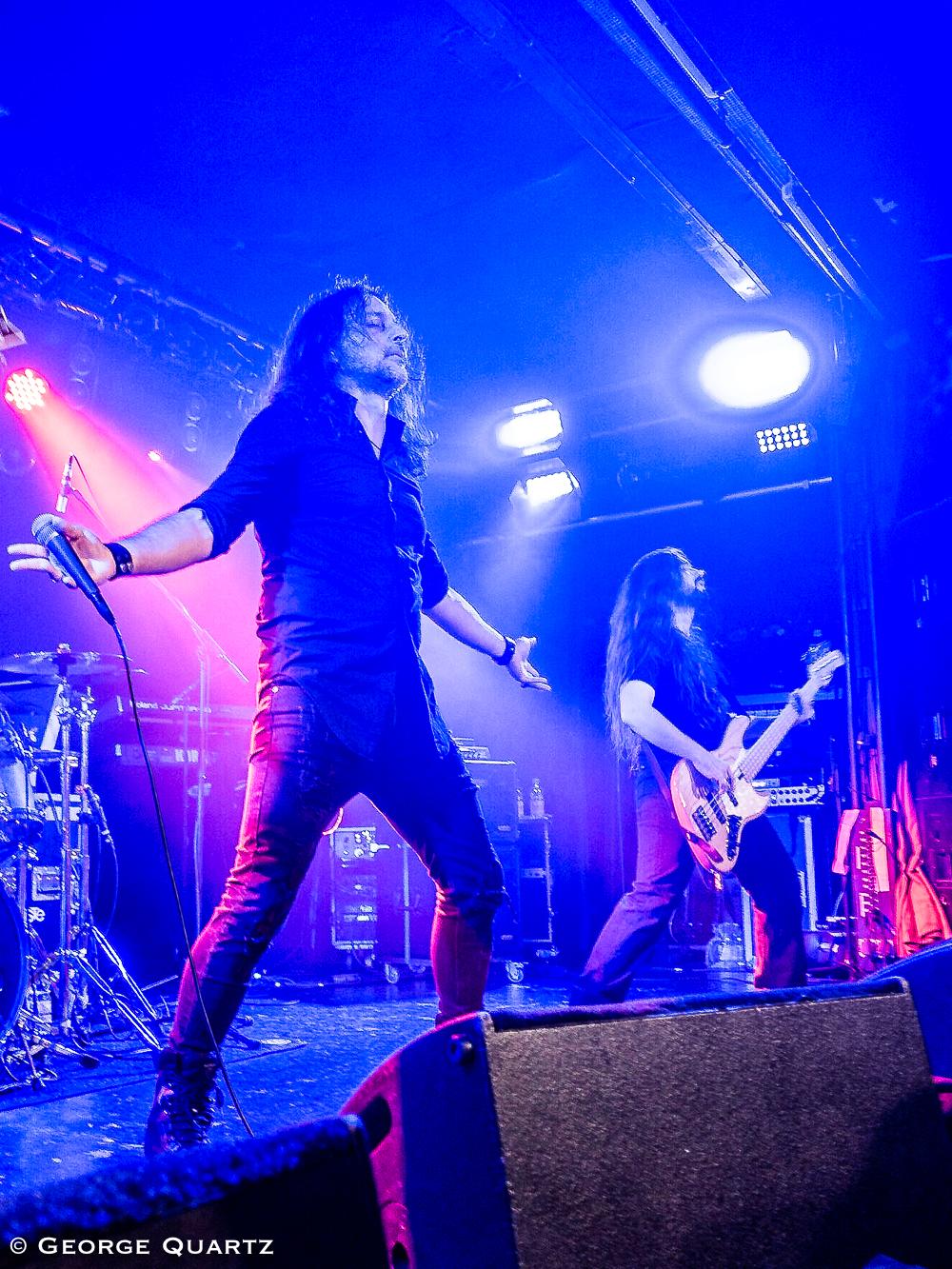 The Silent Wedding, Progressive Metal from Greece, Aschaffenburg, Colos-Saal, October 2018